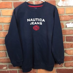 Vintage 99s nautica Crewneck Large